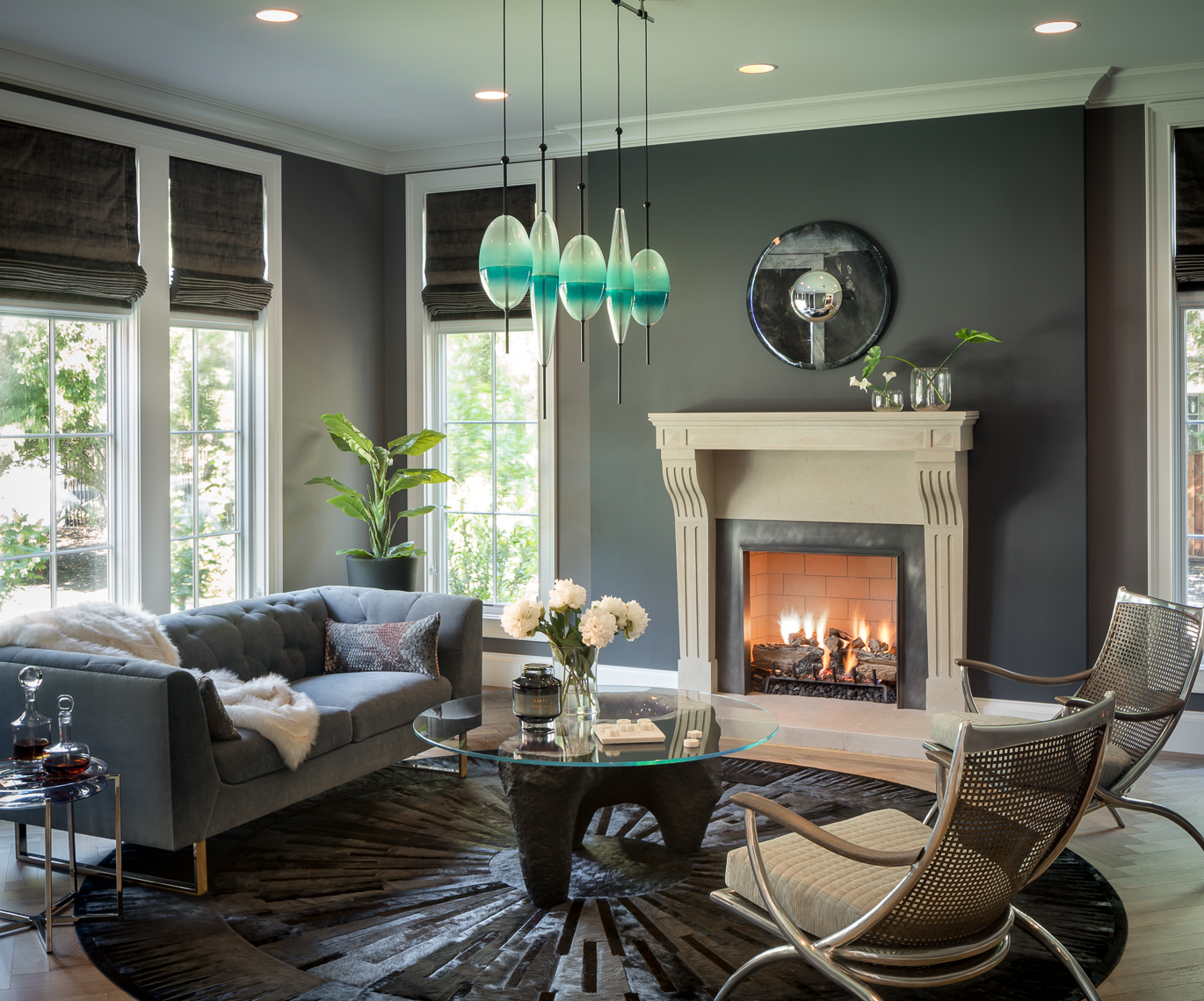 Architectural & Interiors Photographer - Bayon Design Studio Gray Living Room